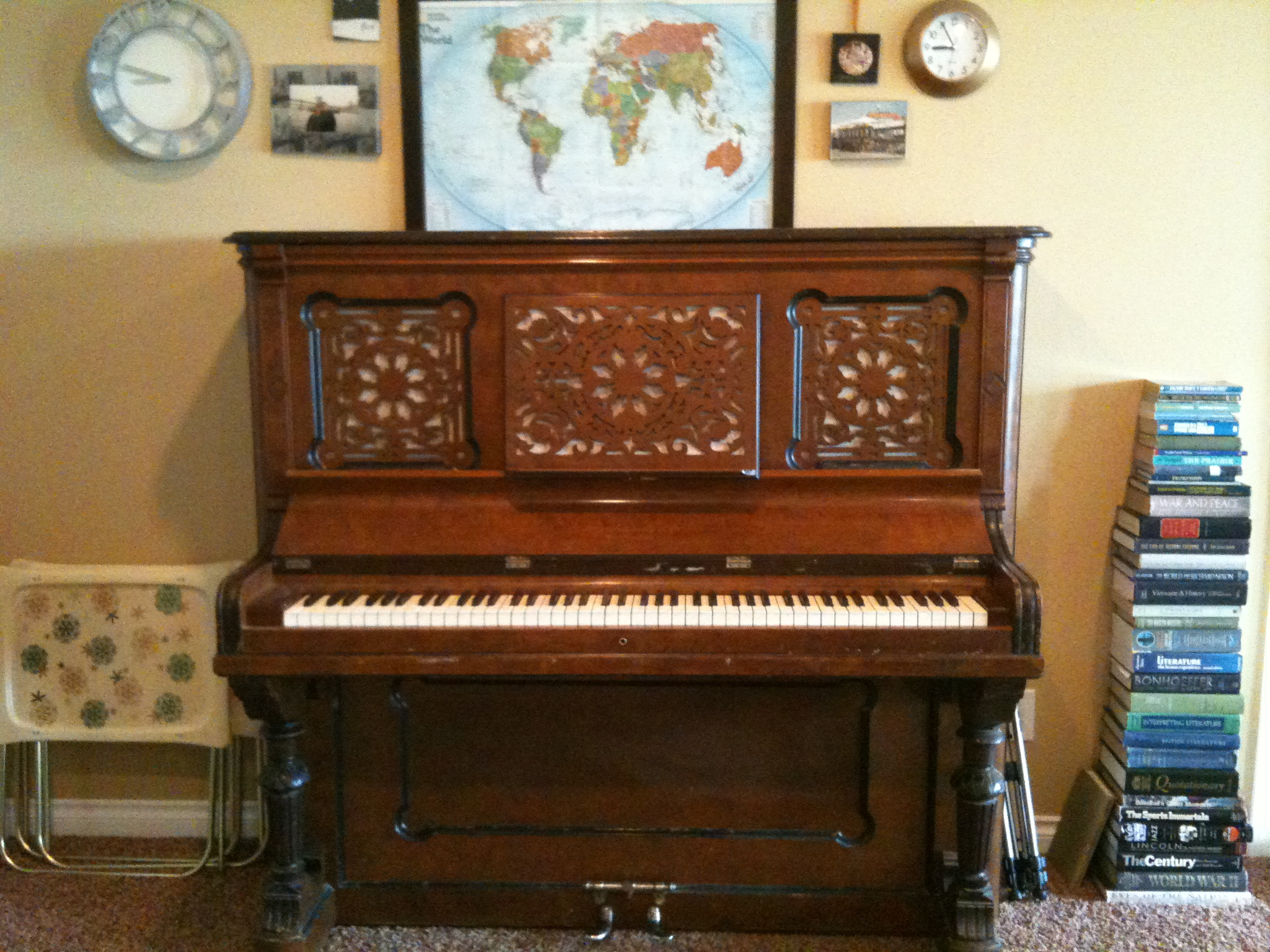 Our New Piano!